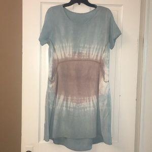 12PM by Mon Ami tie dye dress